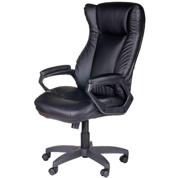 Компьютерное кресло руководителя Адмирал Чёрное (вид 2)