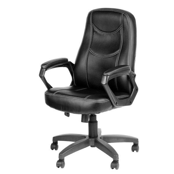 Компьютерное кресло руководителя Амиго 511 Чёрное (вид 4)