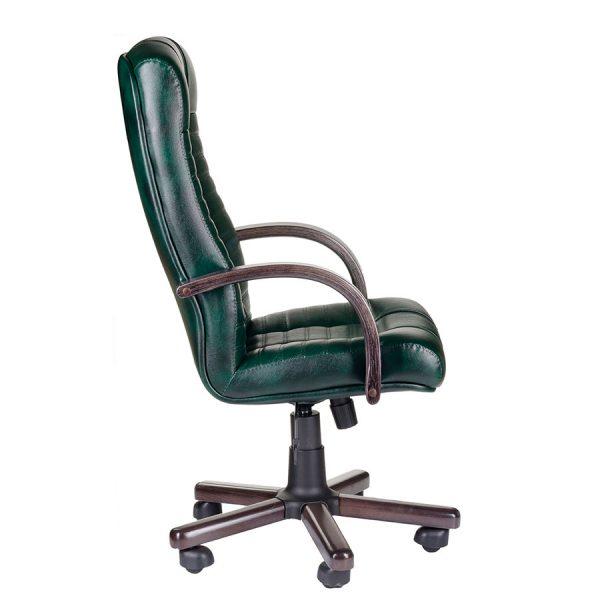 Компьютерное кресло руководителя Атлант Чёрное (вид 2)