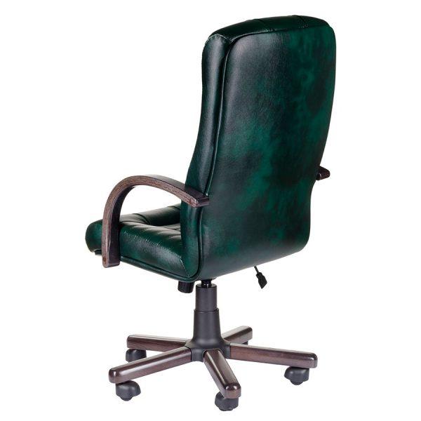 Компьютерное кресло руководителя Атлант Чёрное (вид 3)