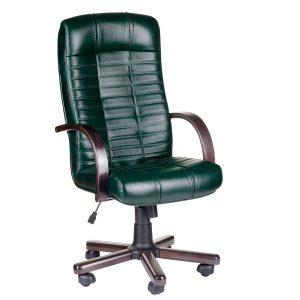 Компьютерное кресло руководителя Атлант Чёрное