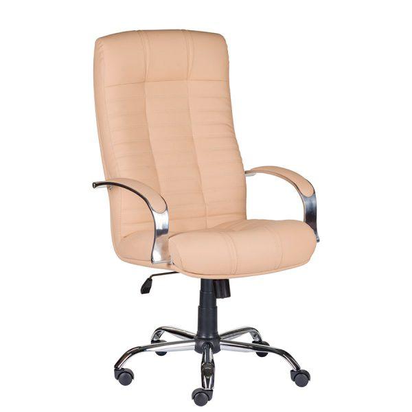Компьютерное кресло руководителя Атлант Бежевое
