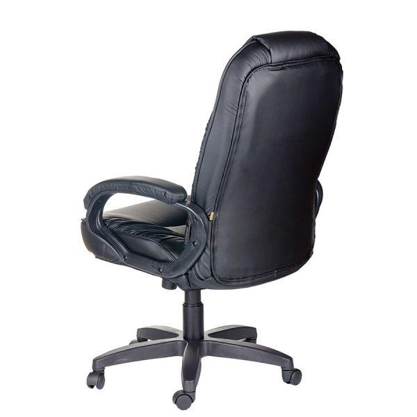 Компьютерное кресло руководителя Бруно Ультра Чёрное (вид 3)
