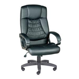 Компьютерное кресло руководителя Хилтон Ультра Чёрное