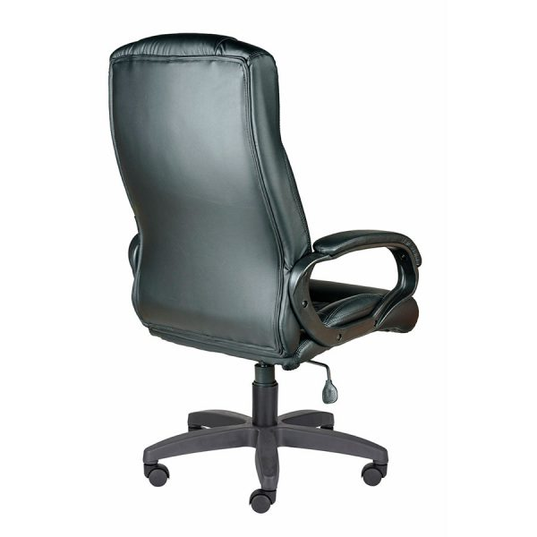 Компьютерное кресло руководителя Хилтон Ультра Чёрное (вид 4)