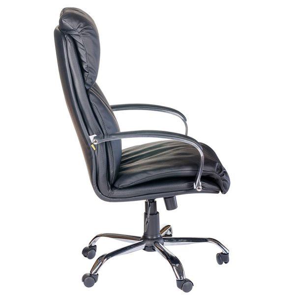 Компьютерное кресло руководителя Надир (вид 2)