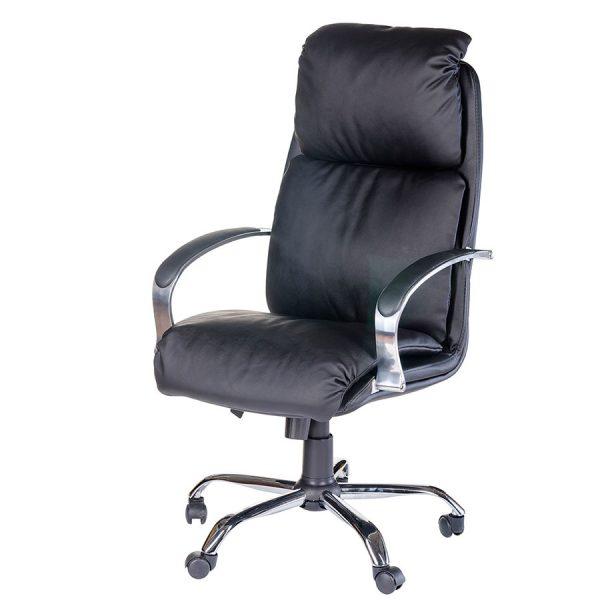 Компьютерное кресло руководителя Надир (вид 4)