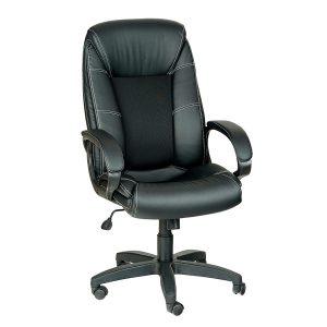 Компьютерное кресло руководителя Оптима Ультра Черное