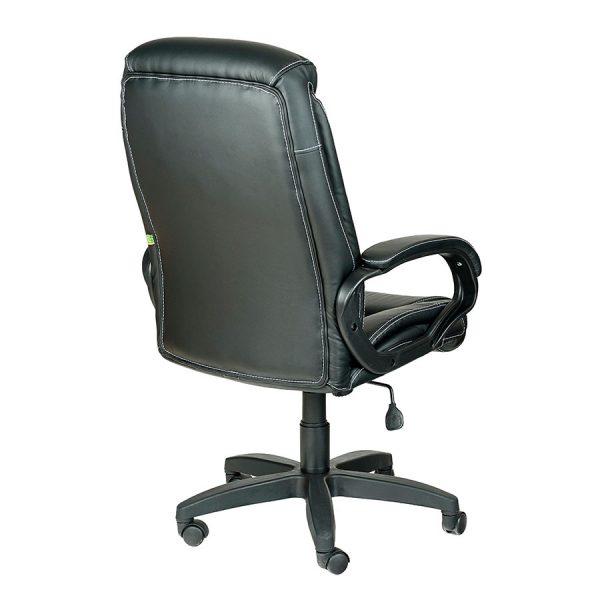 Компьютерное кресло руководителя Оптима Ультра Черное (вид 4)