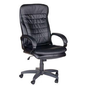 Компьютерное кресло руководителя Силуэт Ультра Чёрное