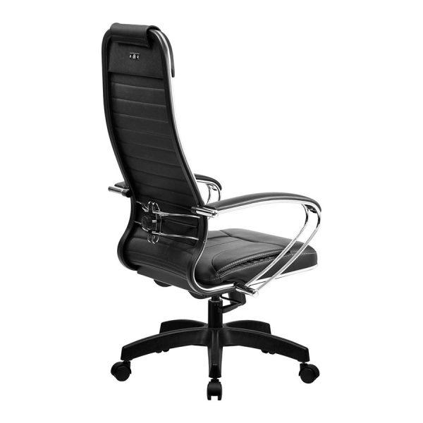 Компьютерное кресло руководителя SU-1-BK Комплект 6 Чёрное Пластик (вид 2)
