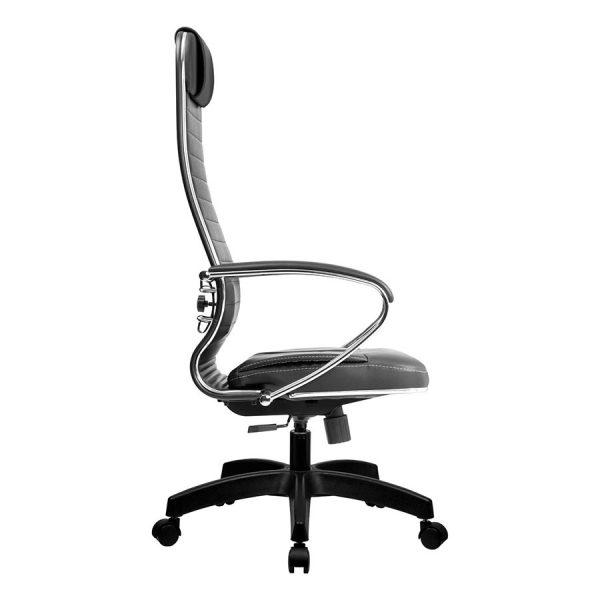 Компьютерное кресло руководителя SU-1-BK Комплект 6 Коричневое Пластик (вид 3)