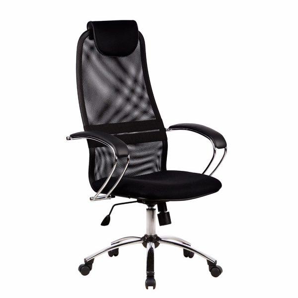 Компьютерное кресло руководителя Галакси-Лайт SU-BK-8 Ch